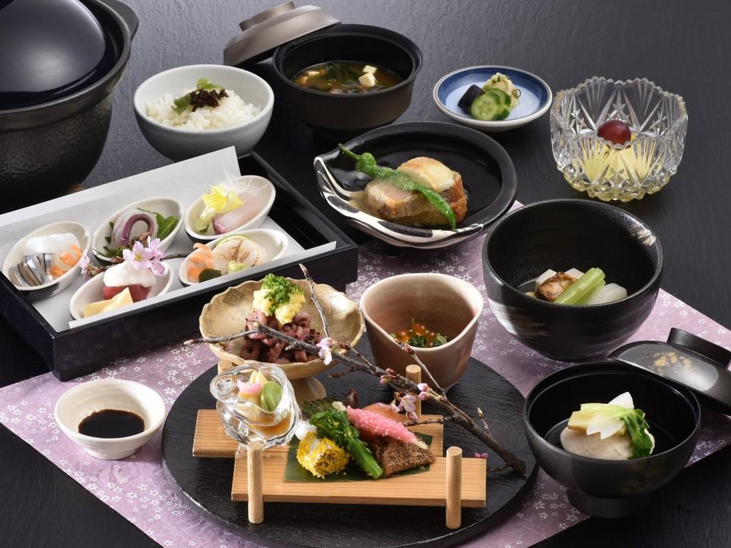 鹿児島黒牛懐石&京野菜