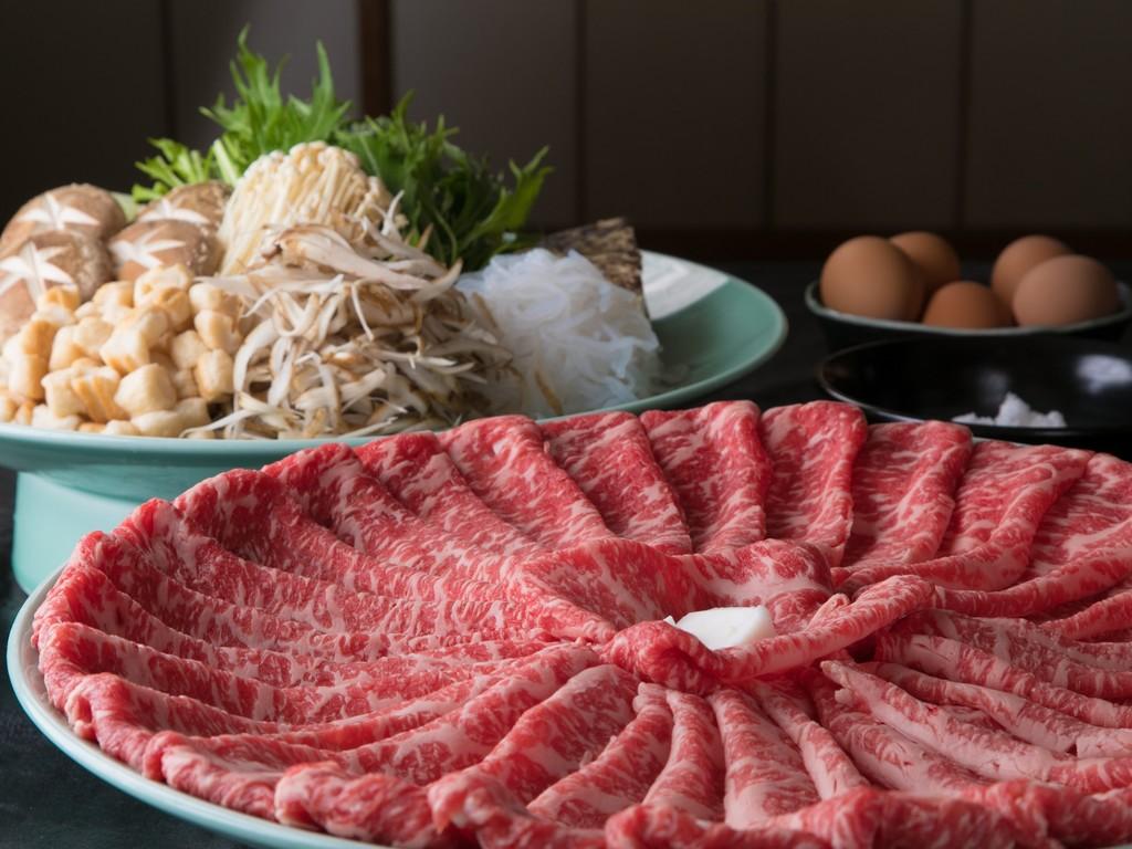黒牛和牛すき焼き(イメージ)