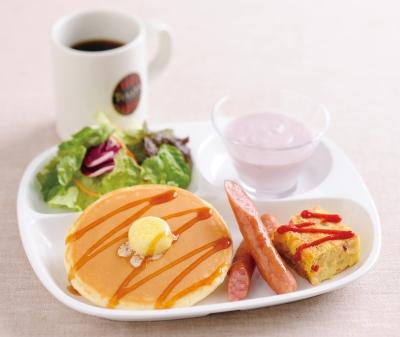 TULLY'Sプレート朝食セット