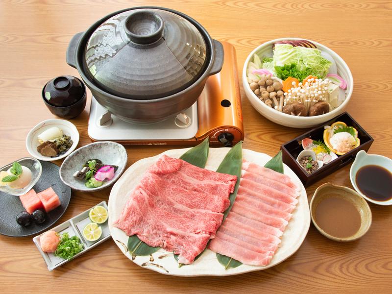 牛肉&豚肉のダブル鍋(イメージ)