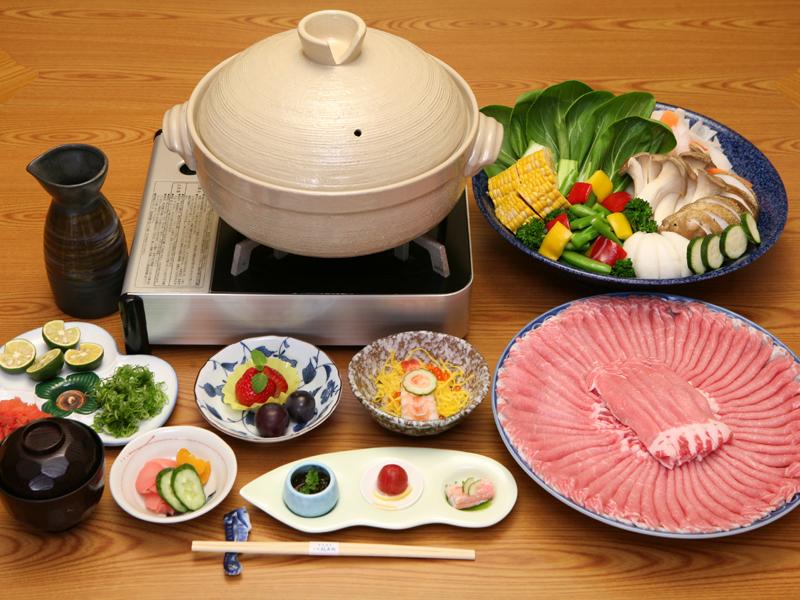 神戸ポーク蒸し鍋(イメージ)