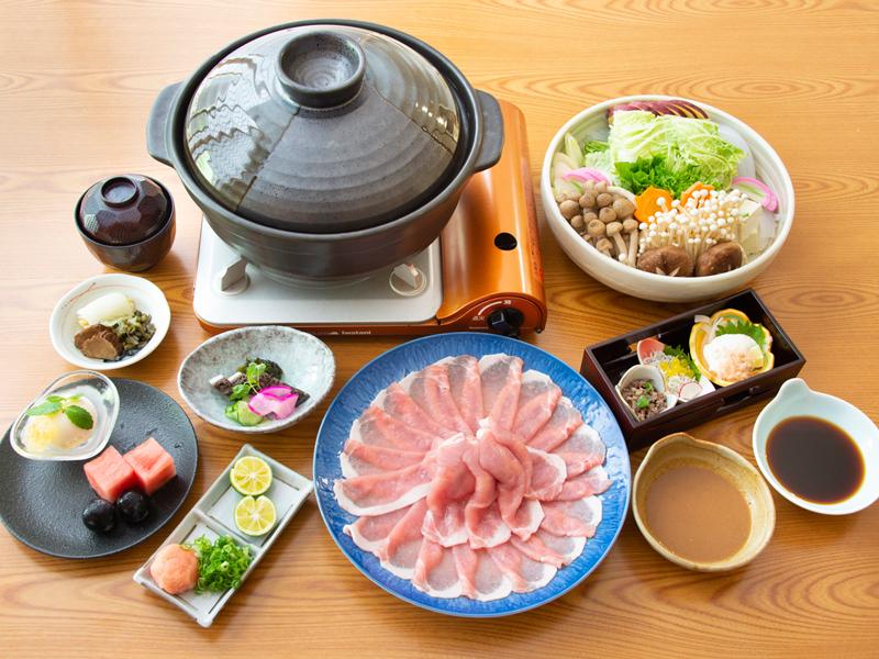 神戸ポークしゃぶしゃぶ鍋(イメージ)