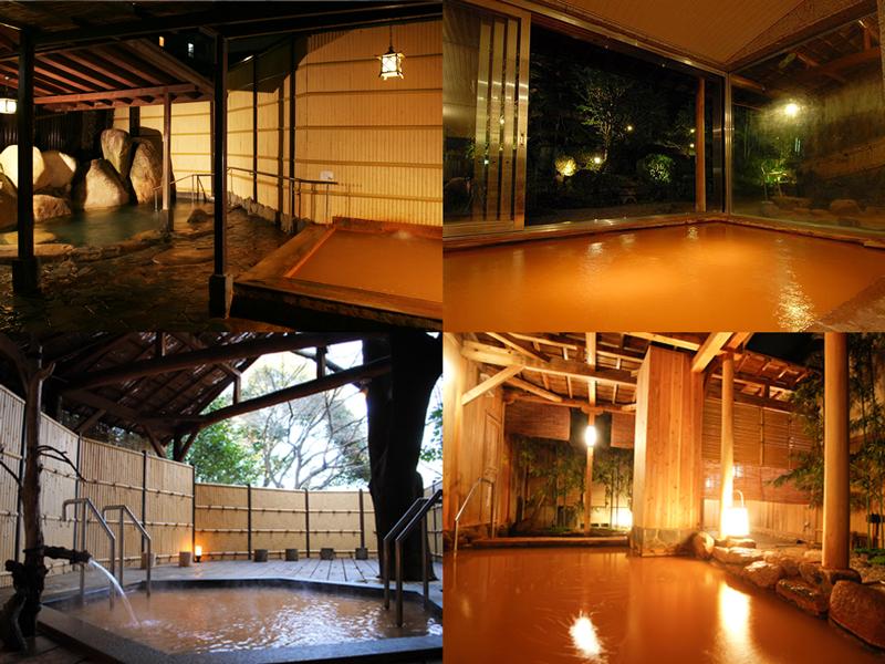 有馬温泉の4つの旅館を湯めぐり!