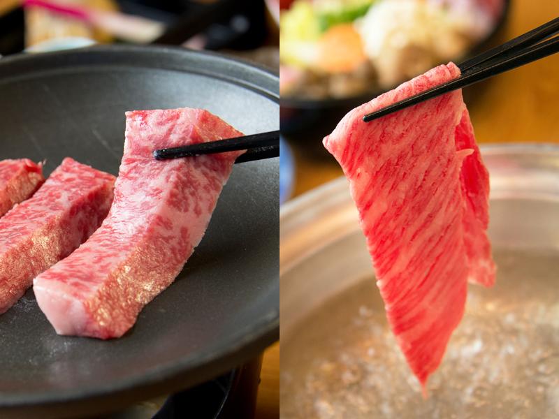地元兵庫県産A5ランク神戸牛ステーキと神戸牛しゃぶしゃぶ!ぜひ、ご堪能ください♪