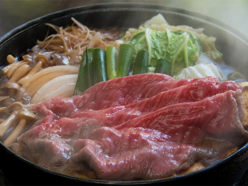 Image of Kobe Beef Sukiyaki Dinner