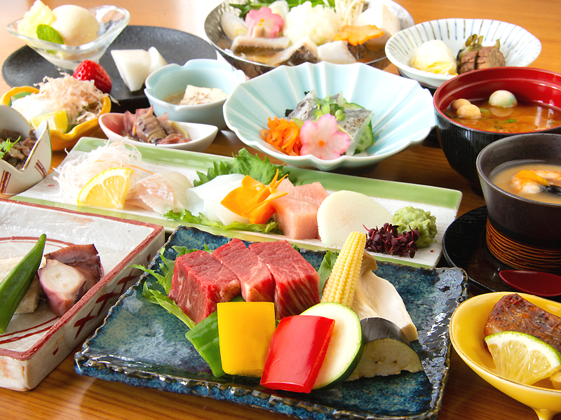 Image of 'Kaiseki' Full-Course Dinner with Tajima Beef Steak