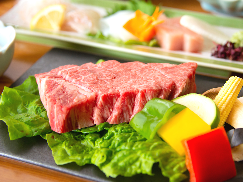 Image of 'Kaiseki' Full-Course Dinner with Kobe Beef Steak