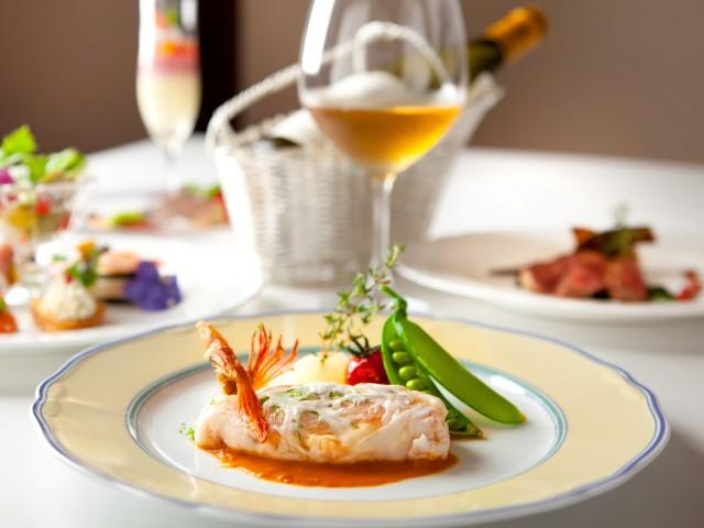 【夕食】お魚料理