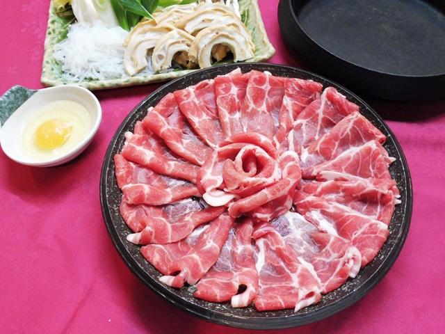 豚すきやき鍋