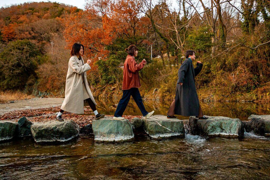 施設周辺は川沿いでお散歩も出来ます。