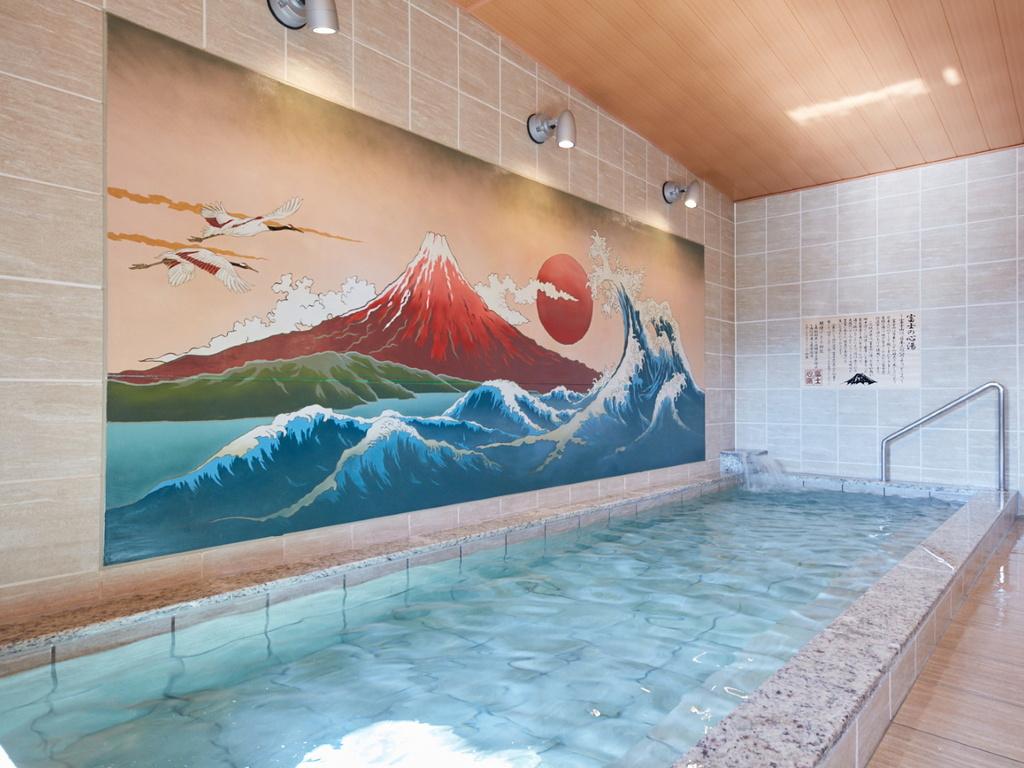 大浴場「富士の心湯」