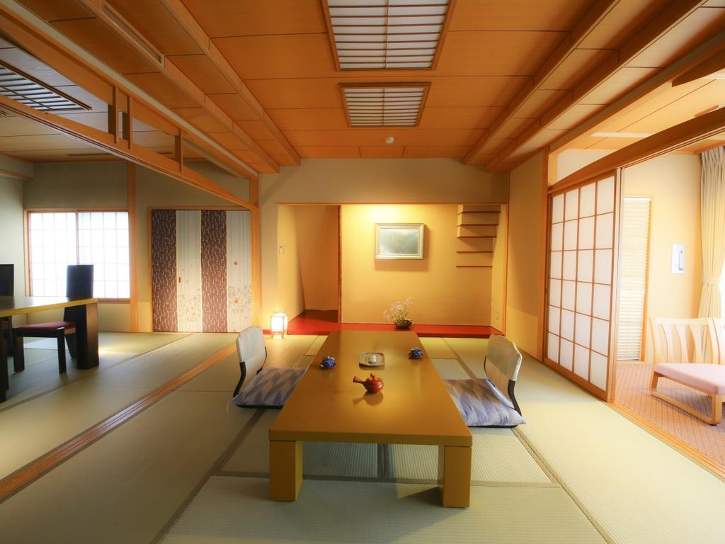【客室】二間以上の客室確約プランです、広さにこだわる方におすすめ
