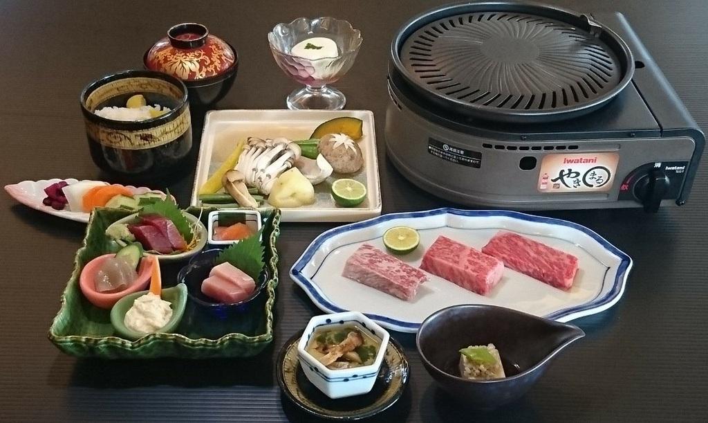 【ご夕食】ブランド牛を炙り寿司で食べ比べ※写真はイメージ