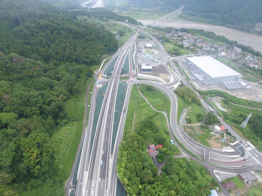 中部横断自動車道「山梨〜静岡間」全線開通で山梨県と静岡県の所要時間が100分以内とグッと近くに!