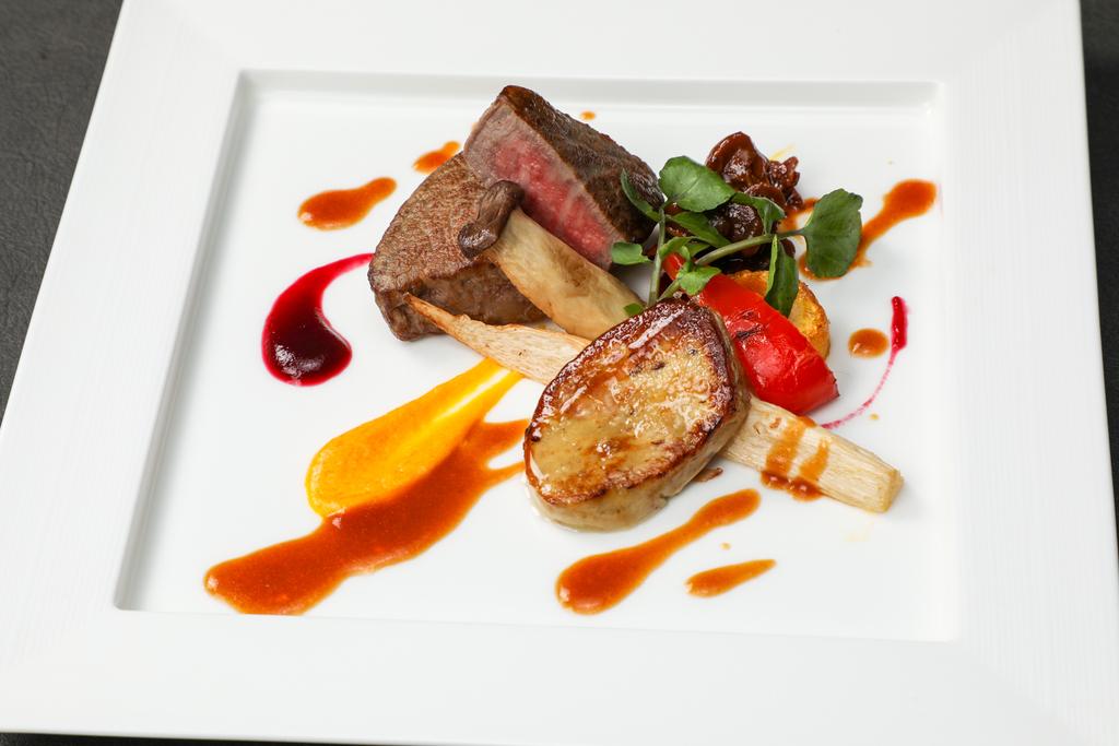 フィレ肉へお料理グレードアッププラン