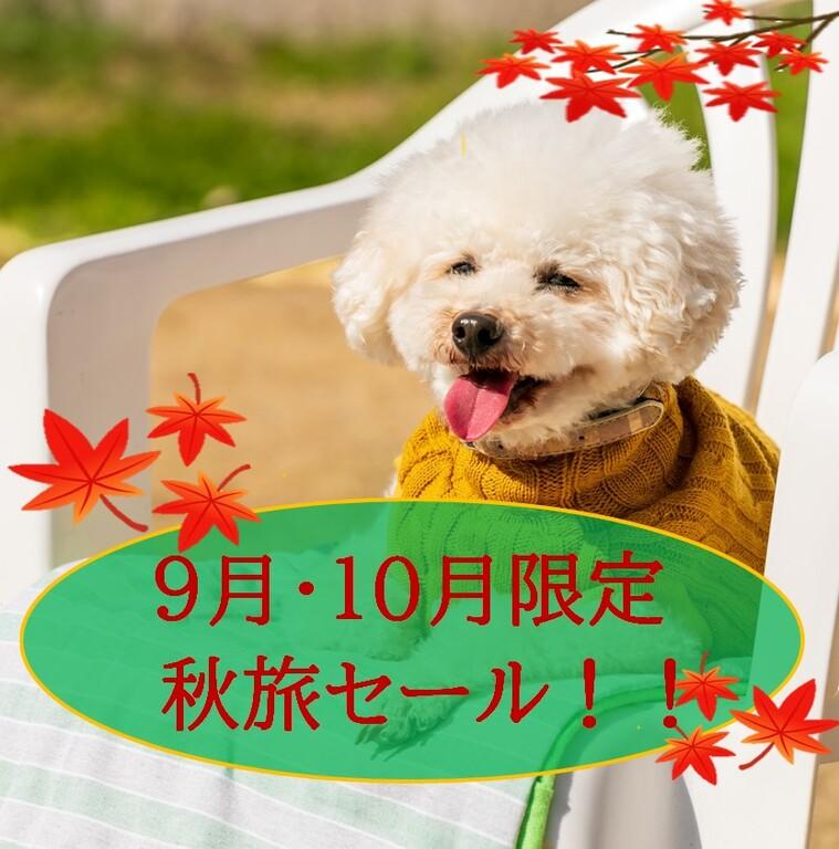 9・10月限定 秋旅セールプラン