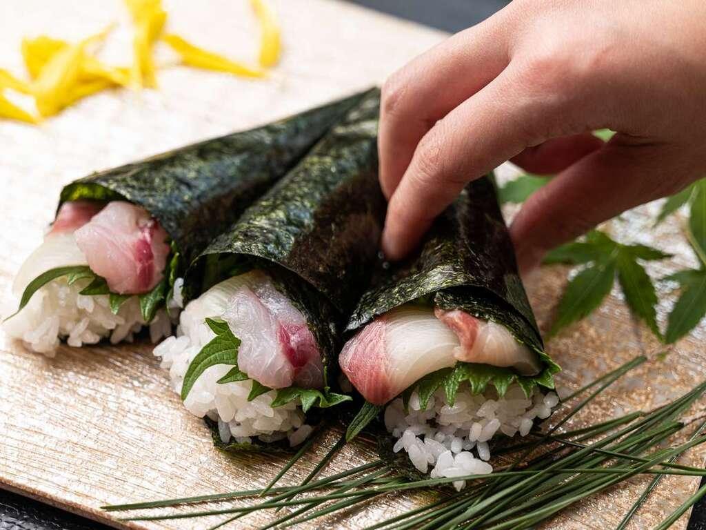 朝食ビュッフェ「手巻き寿司」※イメージ