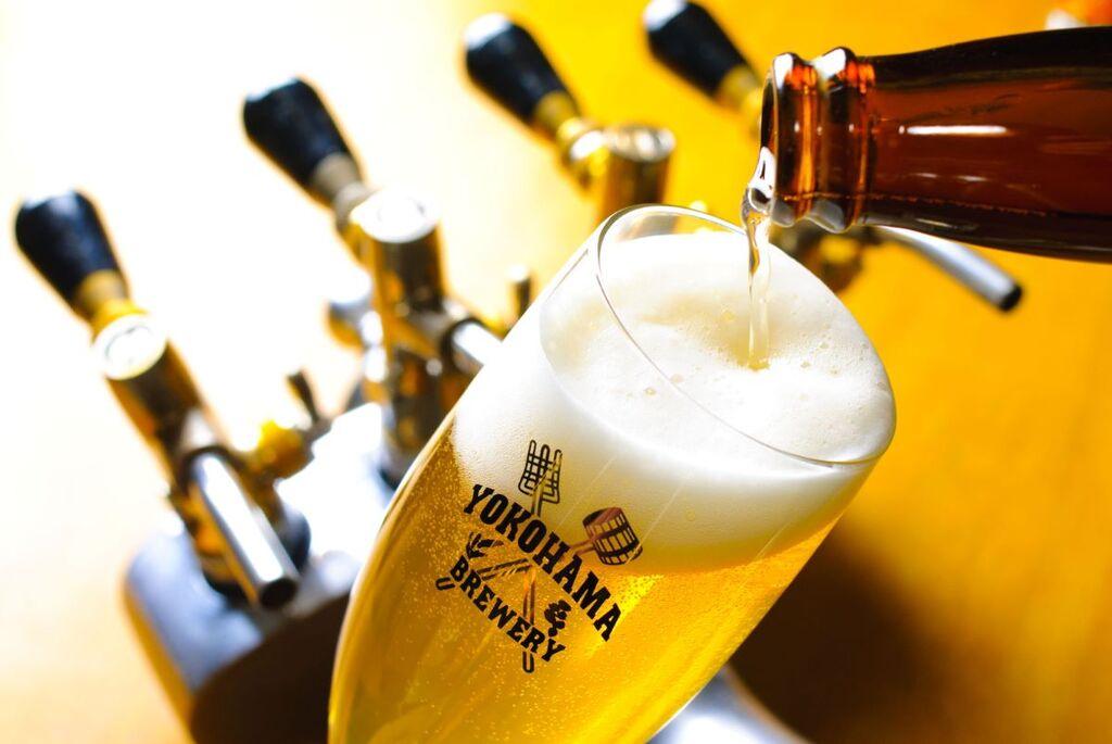 横浜ビールサーブイメージ
