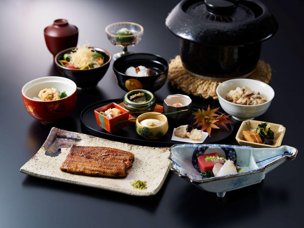 静岡県産うなぎの蒲焼き-お魚メインのプラン