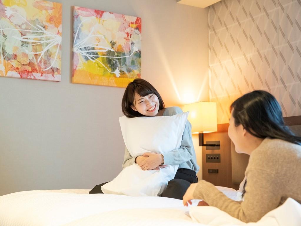 ビジネスに観光にも便利な大阪道頓堀の中心に位置するホテル