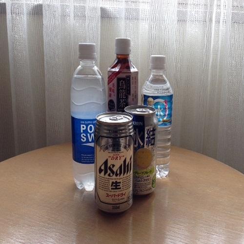 冷蔵庫内ドリンク(イメージ)