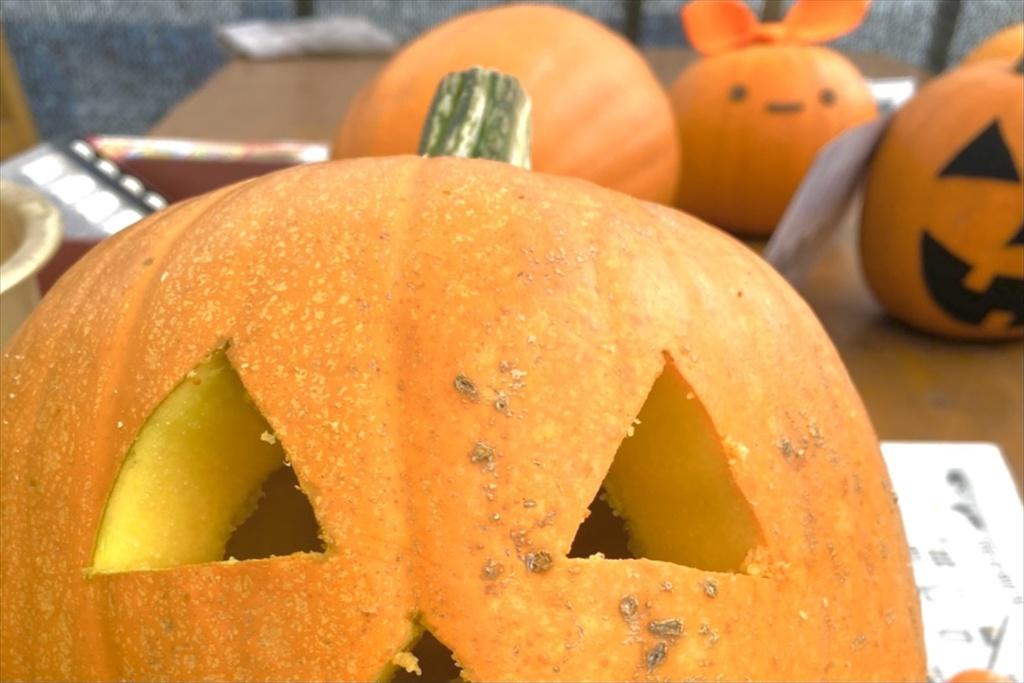 かぼちゃのカービング