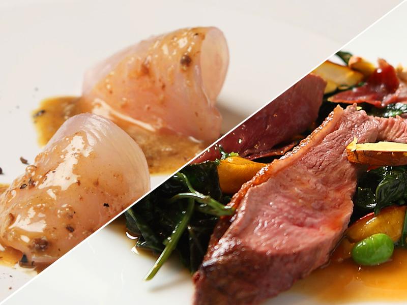 瀬戸内海産の食材に新たな息吹を吹き込む・新せとうち料理スペシャルディナーコースをお楽しみ下さい。<br>※料理イメージ※