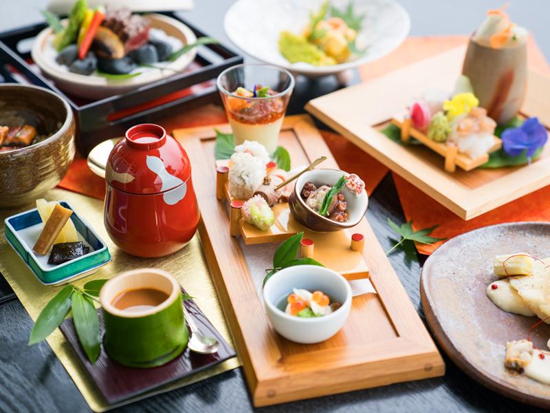 巧みな手技から生み出される本格和食料理をお楽しみください。