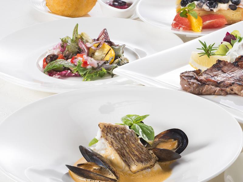 ヘルシーな地中海(ギリシャ)料理 ※料理イメージ