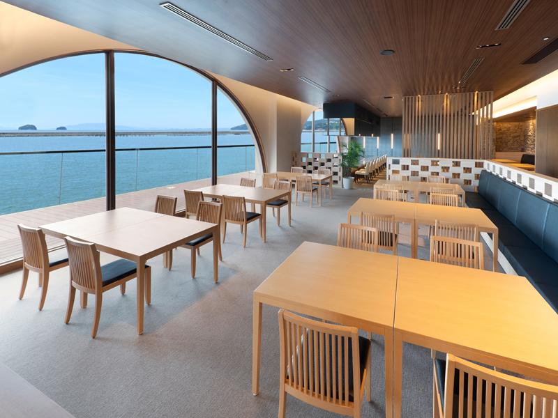2020年7月オープン・和食レストラン「沙羅紗(さらさ)」