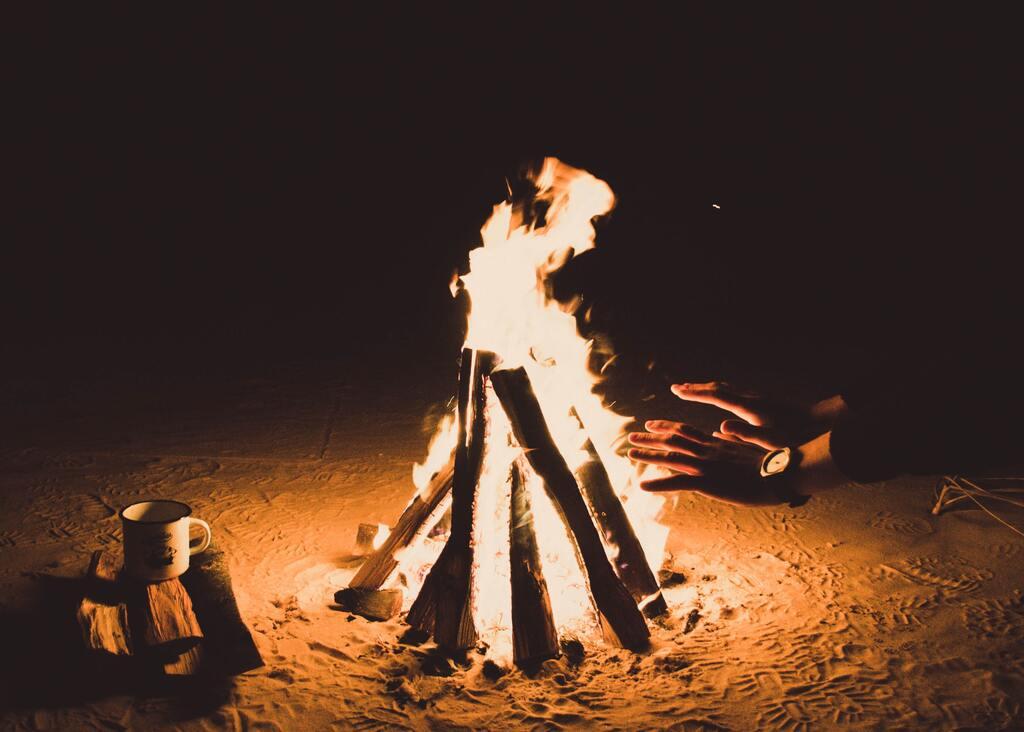 焚き火プラン
