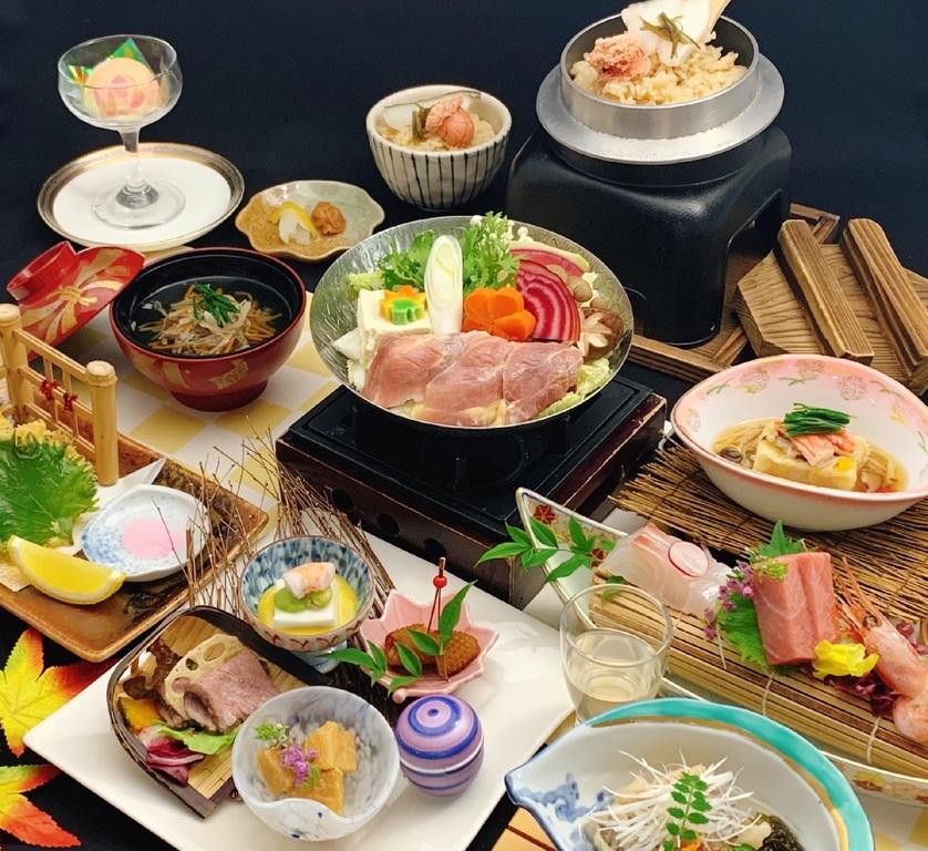 高級地鶏【彩の国タマシャモ】を使用した会席