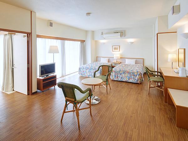 【デラックス2ベッドルーム/和洋室C】 ご家族やグループでのご旅行に最適な2ベッドルーム。