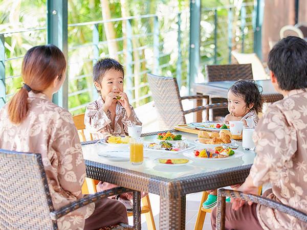 【ご朝食イメージ】 お子様が楽しめるメニューもご用意致しております。/ビュッフェレストラン マーセン