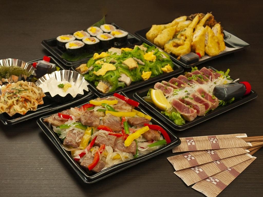 【夕食一例】イルカコース オードブルA