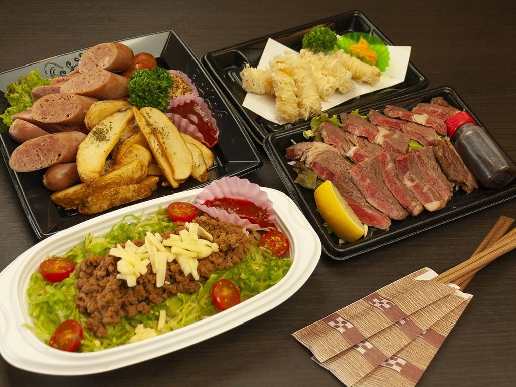 【夕食一例】マンタコース オードブルA