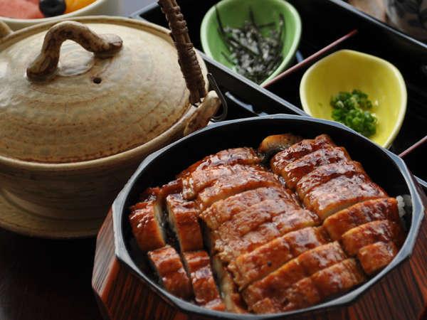 郷土料理「ひつまぶし御膳」
