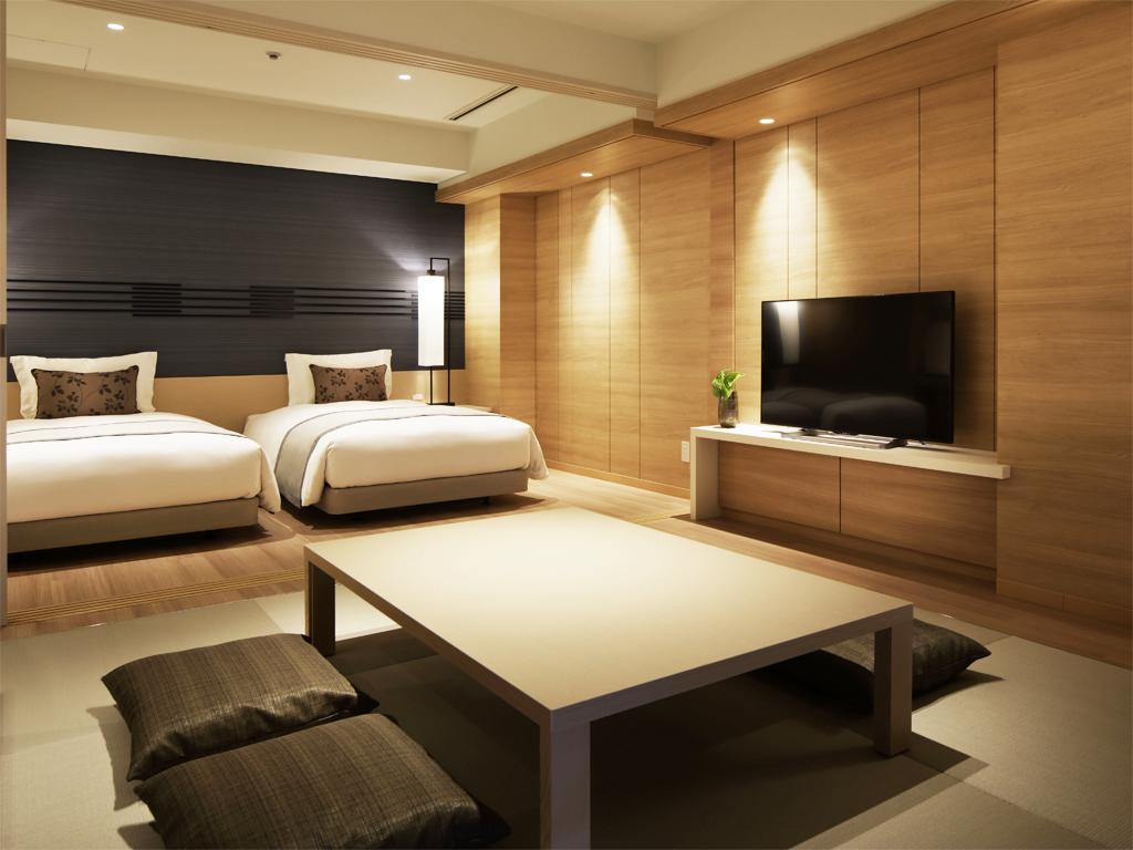 広々とした客室は長期滞在でも快適に過ごせます