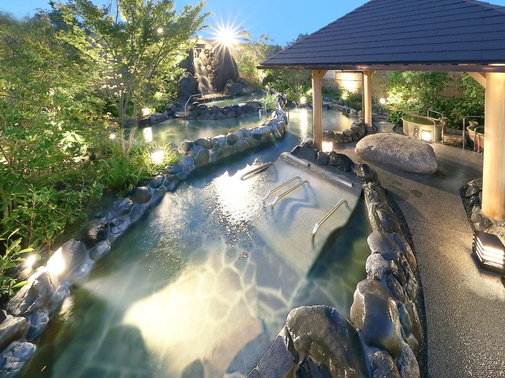 自家源泉「神戸みなと温泉」保湿効果と美肌効果が特徴の美人の湯