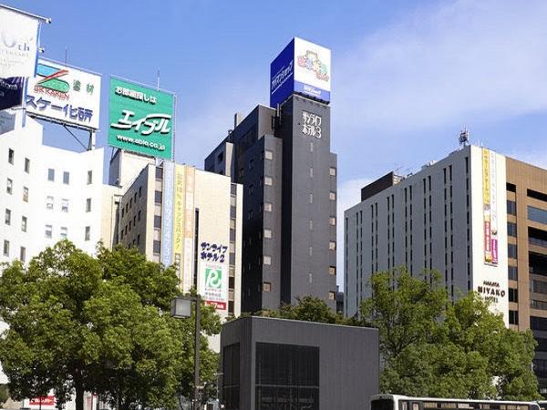 サンライフホテル2・3号館外観�B