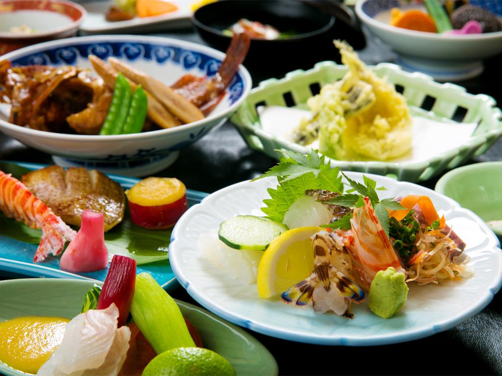 """◆料理長会席◆老舗料理旅館""""が手掛ける「海の幸会席」"""