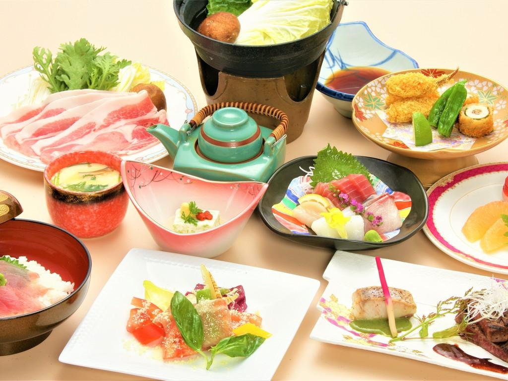 グレードアップ夕食【豊潤】