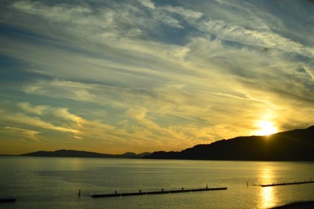 【西伊豆夕景】美しき夕陽