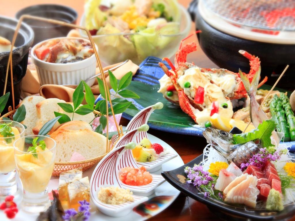 【お食事】創作和食会席※写真はイメージです