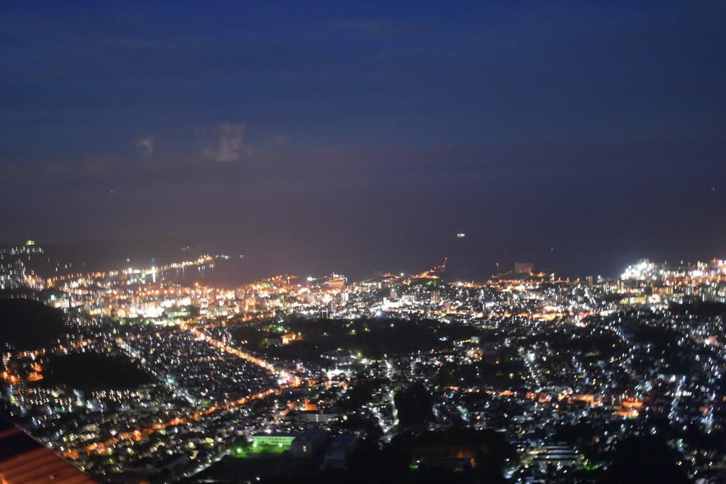 天狗山からの夜景 イメージ