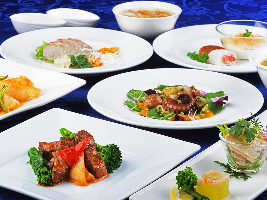 ◆広東省風の中国料理◆明石海峡大橋の美景と味わう<本場中国の味わい>