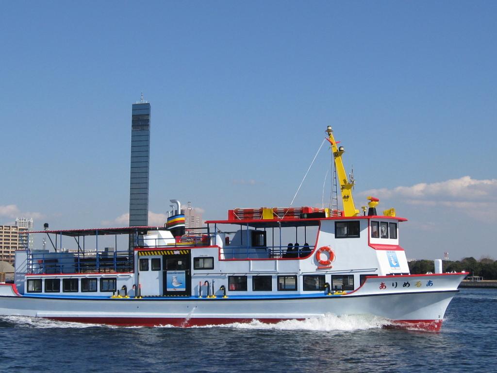 千葉港めぐり観光船プラン○乗船割引券付き!千葉の海で思い出づくりに