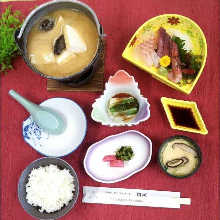 孟宗鍋定食イメージ