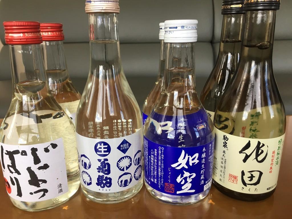 青森地酒一例