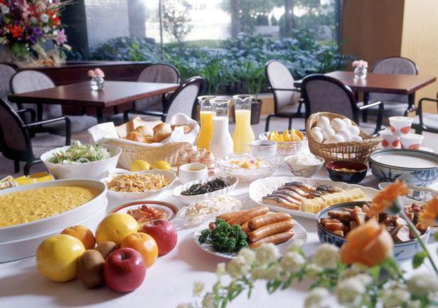 人気の朝食-和洋ブッフェ